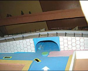 The BDA junction underpass model, Bangalore