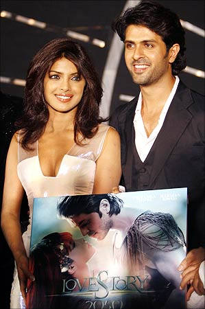 Priyanka Chropa and Harman Baweja - Love story 2050