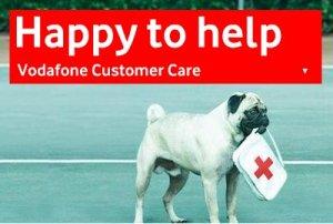 Vodafone pug