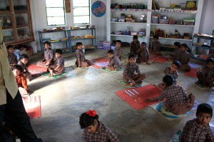 A peek into 2nd std tribal class