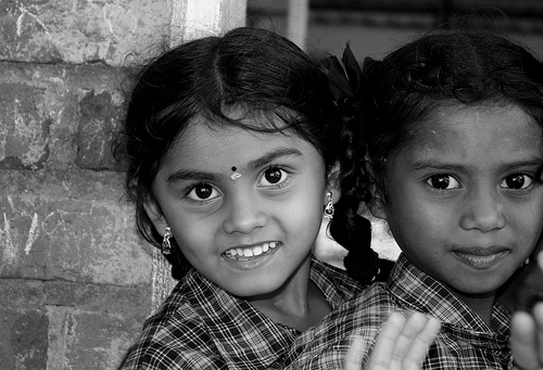 Tribal girl portrait at VTCL - my best shot in the entire trip