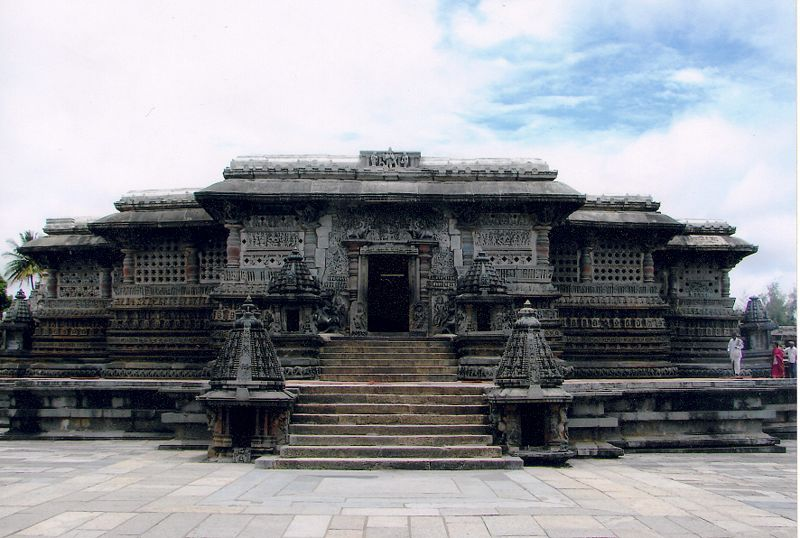 Chennakeshava temple at Belur - front view