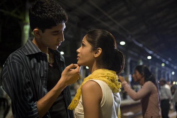 Slumdog Millionaire - Dev Patel and Freida Pinto