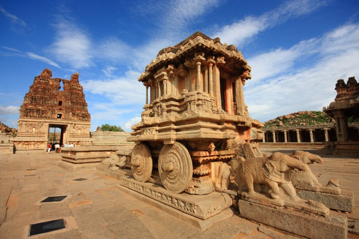 Stone Chariot at Hampi, Karnataka