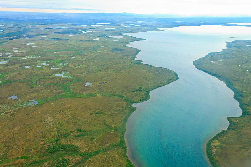 Alaska-Landscape-from-plane