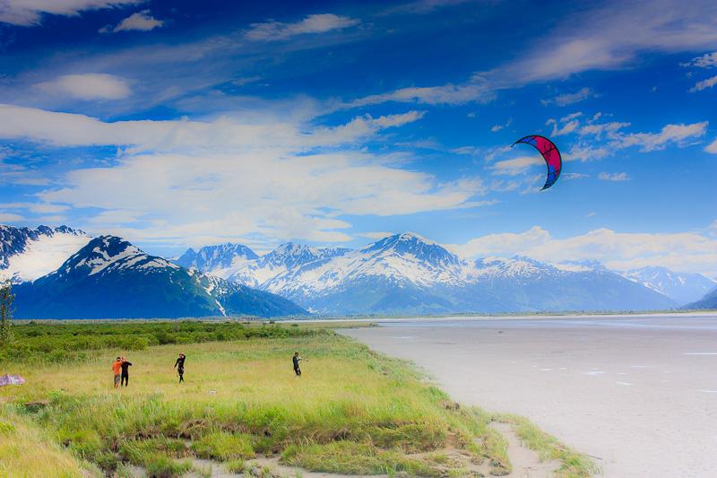 Alaska Seward Highway landscape